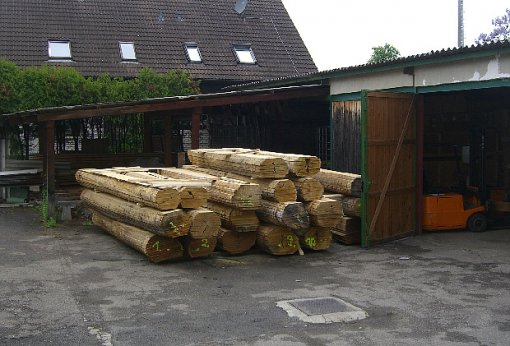 Holzlieferung